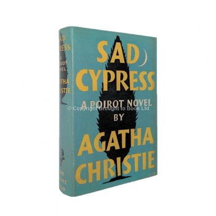 Sad Cypress by Agatha Christie First Edition The Crime Club by Collins 1940